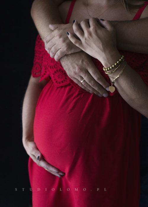 kreatywne zdjęcia ciążowe śląsk