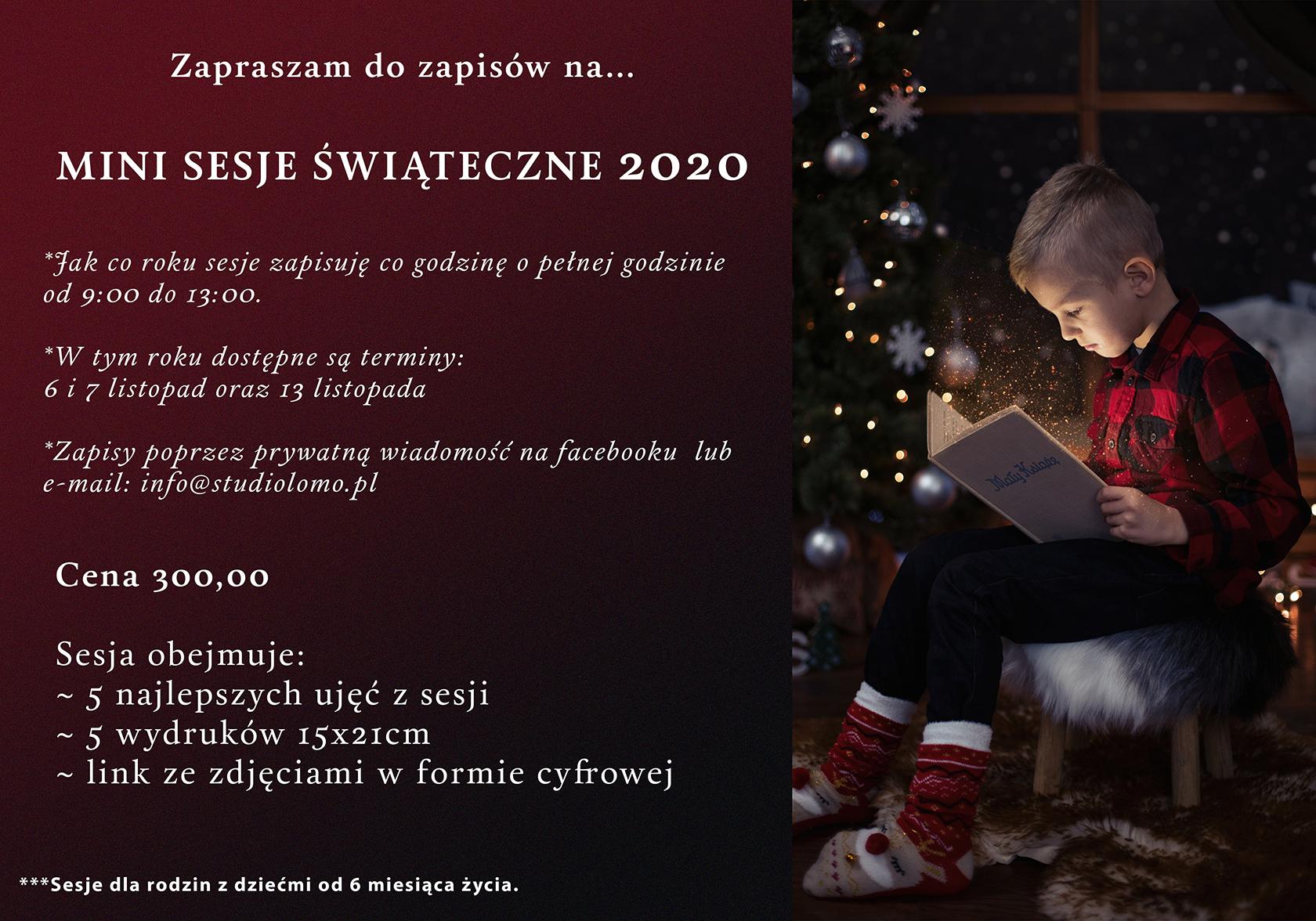 sesje świąteczne 2020