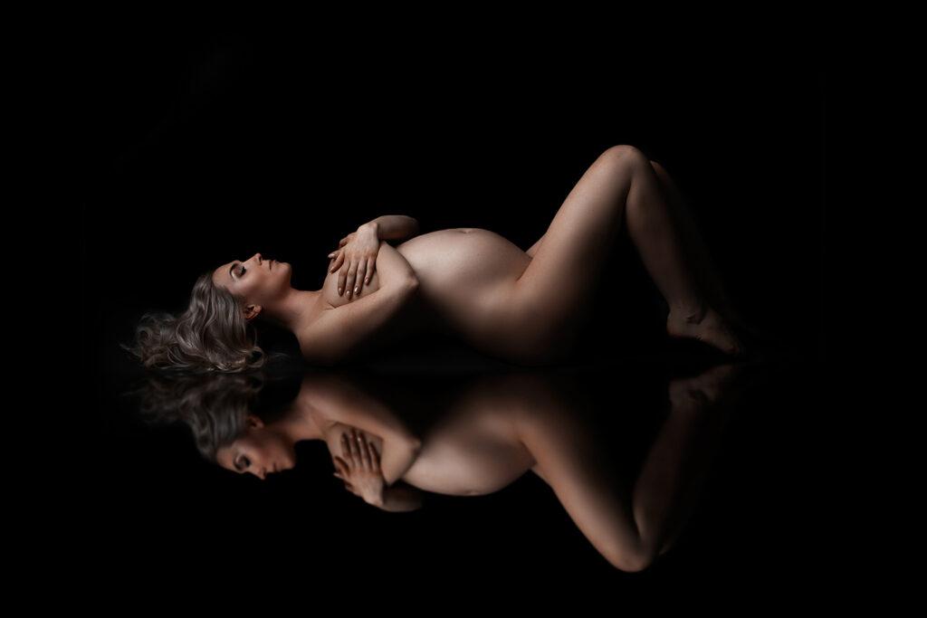 niezwykła sesja ciążowa śląsk